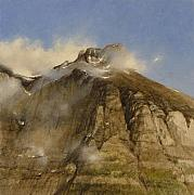 Gary Kaemmer - A Glacier Peak In The Mist