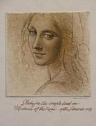 Gary Kaemmer - Study Madona of the Rocks after Leonardo